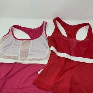 Nike Tops - 2 Nike workout shirts size L